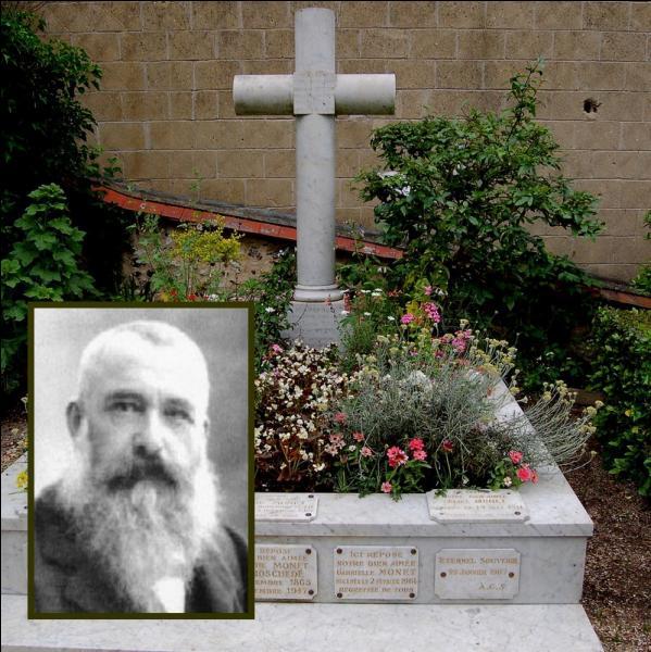 Claude Monet meurt le 5 décembre 1926 à Giverny. Assistant à la mise en bière, quel personnage et ami déclara : « Pas de noir pour Monet, le noir n'est pas une couleur ! » ?