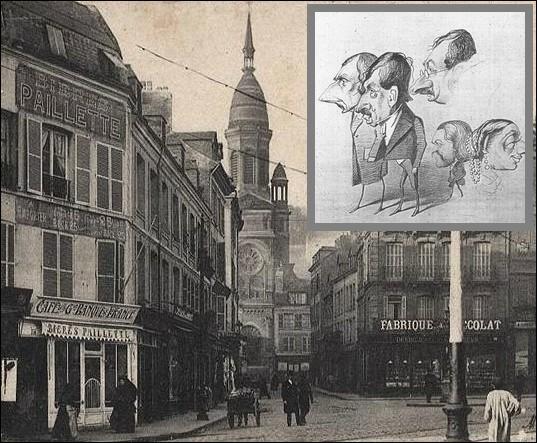 Dans quelle ville passe-t-il son enfance et où il débutera comme caricaturiste, avant de se consacrer à la peinture ?