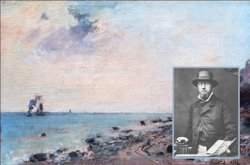 De retour en Normandie, quel peintre rencontre-t-il à l'automne 1862 lors d'un séjour à Honfleur ?