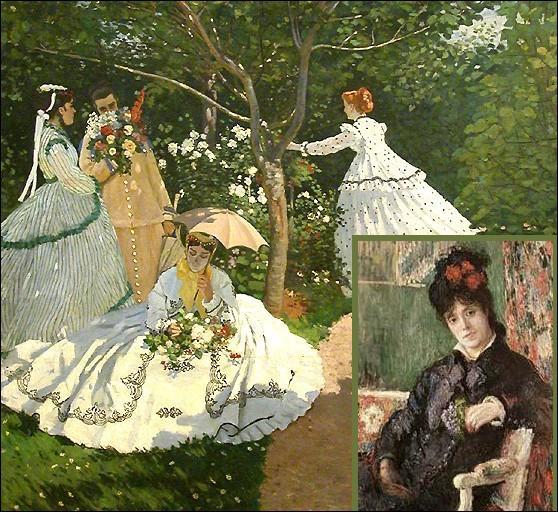 En 1865 à Paris, il rencontre celle qui deviendra son modèle préféré et plus tard son épouse...