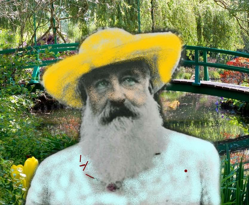 Monet..... Itinéraire d'un peintre