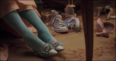 """Dans le film """"Marie-Antoinette"""", de Sofia Coppola, il semble que la reine de France était très en avance sur son époque !"""