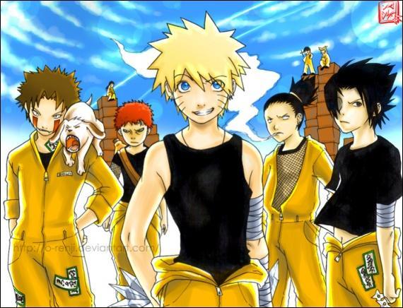 Naruto en prison, deuxième partie ! Qui cache des kunaïs alors qu'il est en détention ?