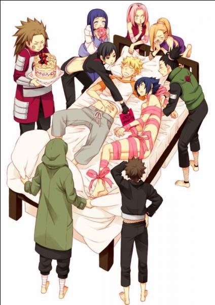 Quel est le plus gros cadeau que reçoit Naruto pour son anniversaire ?
