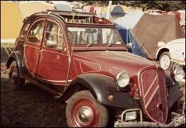 Cette 2CV possède l'avant d'une autre Citroën, quelle est cette dernière ?