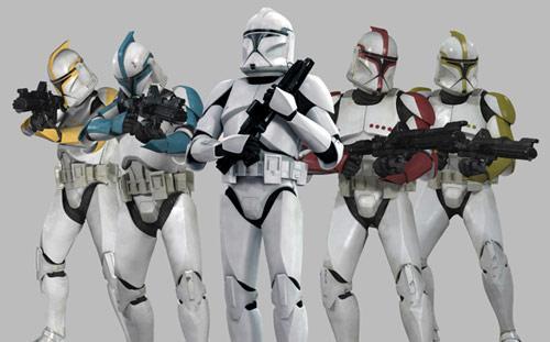 Star Wars : Soldats clones (Clone Troopers)