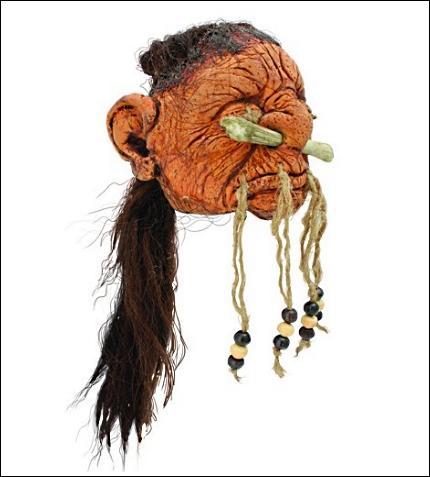 Tout le monde se souvient de la tête réduite aux allures de rasta du Magicobus. Mais d'autres petites têtes se cachent dans le film. Où cela ?
