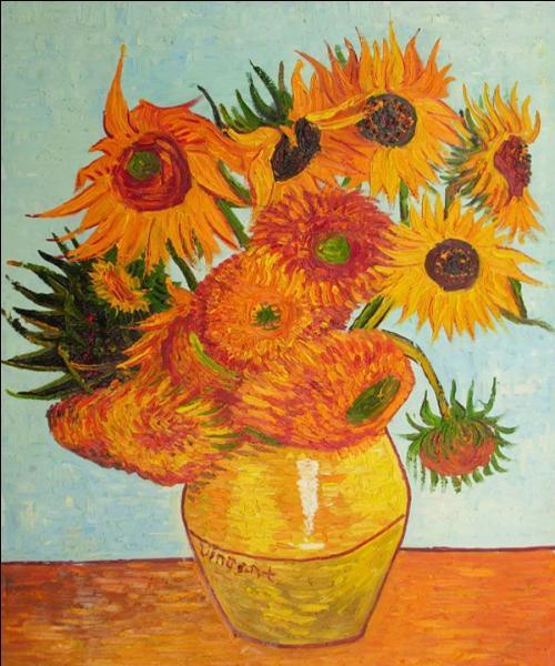 Combien de séries de tournesols ont été peintes par Van Gogh ?