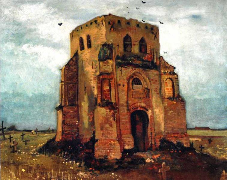 """Où admirerez-vous cette oeuvre intitulée """"Le vieux clocher de Nuenen"""" ?"""