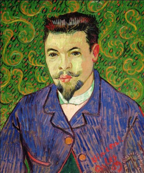 Lors de son séjour à l'hôpital à Arles, il a peint ce tableau, qui a-t-il représenté ?