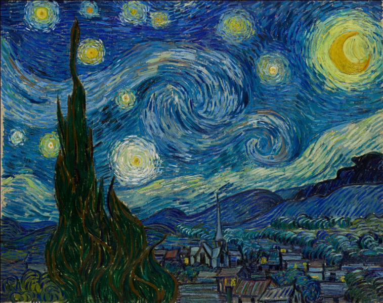 Comment s'appelle cette oeuvre visible au Museum of Modern Art de New York ?