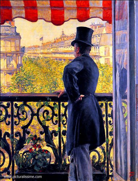 Où emménage-t-il à Paris, avec son frère Martial, faisant de lui par ses toiles un témoin des transformations du Paris de la fin du 19e siècle ?