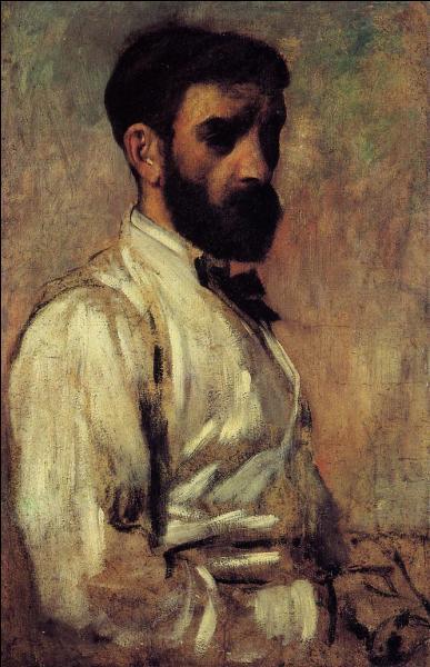 Après des études de droit, il entre, en 1873 à l'Ecole des Beaux-Arts, après avoir suivi une formation dans l'atelier du peintre académique :