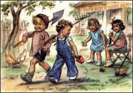 Quel est le nom de cette illustratrice française qui a trouvé l'inspiration dans la rue et dans les squares en dessinant des enfants ?
