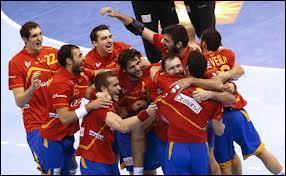 Du 11 au 27 janvier 2013, il y a eu la Coupe du monde de handball masculin en Espagne, remportée par :
