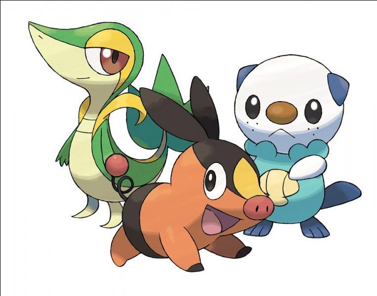 Dans quelle région trouve-t-on ces Pokémon ?