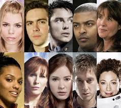 Les acteurs dans Doctor Who