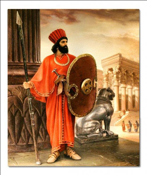 Ces soldats d'élite constituent la garde personnelle du roi de Perse, qui sont-ils ?
