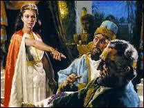 L'épouse de ce roi de Perse, d'après la Bible, lui demanda de faire condamner son premier ministre, alors que celui-ci voulait exterminer les Juifs du royaume. Qui était-elle ?