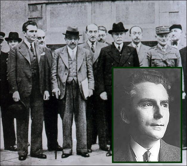 Alors ministre des Affaires étrangères dans le gouvernement Philippe Pétain, puis dans celui de Pierre Laval, il signe la Loi en date du 3 octobre 1940 portant statut des Juifs...