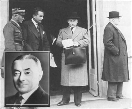 Qui devient Président du Conseil le 22 mars 1940, succédant ainsi à Edouard Daladier ?