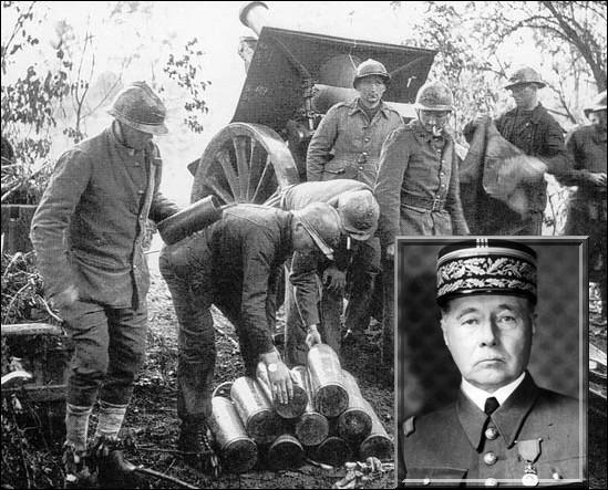 Il commandait l'Armée française pendant la drôle de guerre de 1939-1940 et voit sa stratégie mise en déroute par les Allemands lors de la percée de Sedan...