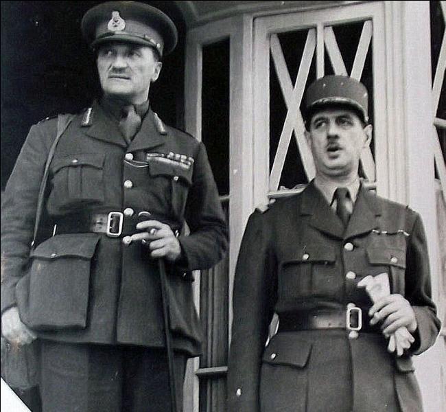 Quelle était la fonction du Général Edward Spears en 1940 ?