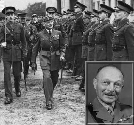 Nommé le 19 mai 1940 commandant en chef de l'armée française, il est le premier responsable à se déclarer partisan de l'Armistice avec l'Allemagne nazie...