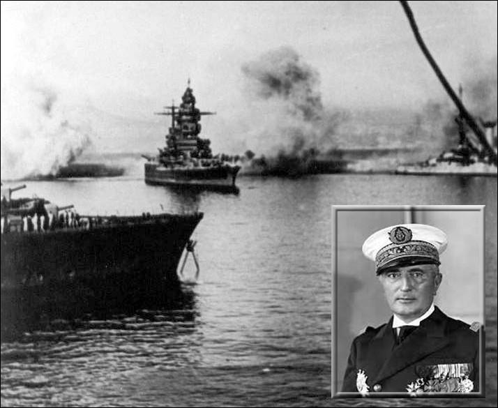 Quel évènement fera adopter à l'Amiral Darlan, une politique résolument collaboratrice de Vichy en juillet 1940 ?