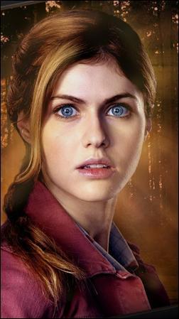 Dans Percy Jackson 2 quelle blessure a Annabeth quand Polyphème la lance sur des pierres dans sa grotte ?