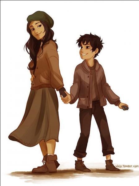 Dans Percy Jackson 3 quel est le nom de famille de Blanca et Nico