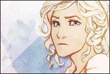 Dans les Heros de l'Olympe 3 qu'est-ce que se casse Annabeth ?