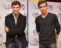Violetta : Leon et Diego