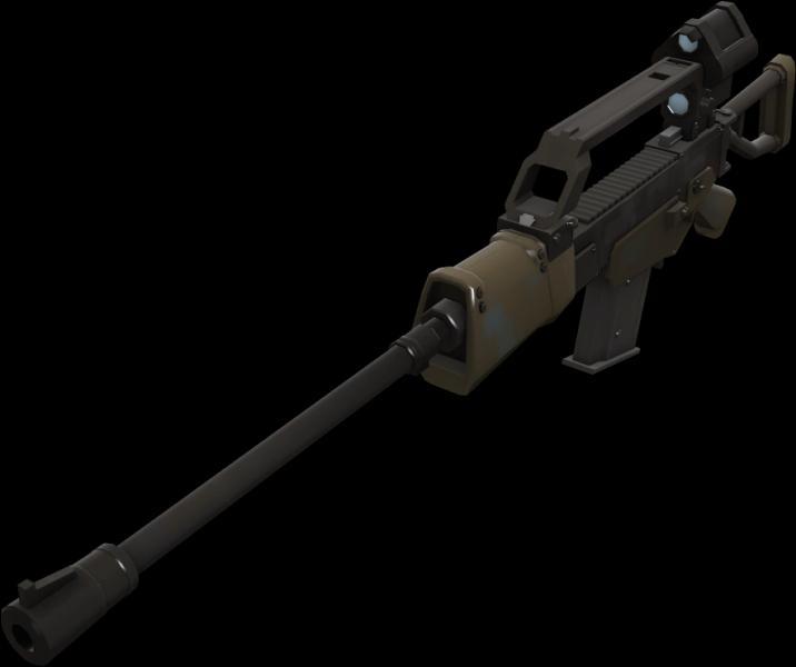 Avec la mise à jour  Lover & War , une arme pour le sniper a été ajoutée. Mais de quel jeu provient cette arme ?