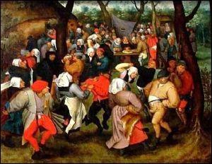 """Ce tableau, """"Danse paysanne"""" , a été peint par ..."""