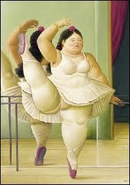 """La silhouette de cette """"Danseuse à la barre"""" ne peut avoir été peinte que par ..."""
