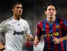 Cristiano Ronaldo ou Messi