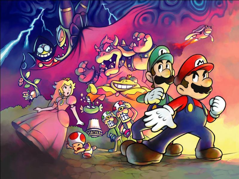 Comment s'appelle le premier opus de la série « Mario & Luigi » ?