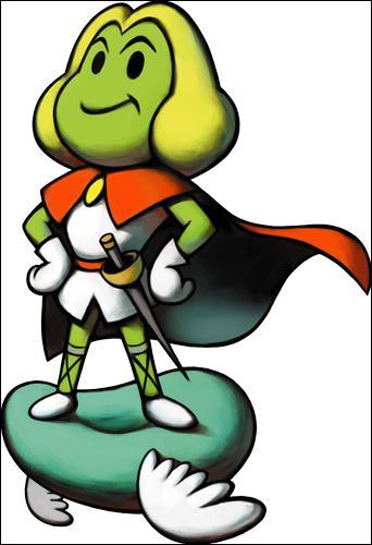 Dans ce jeu, comment s'appelle le prince de Végésia ?