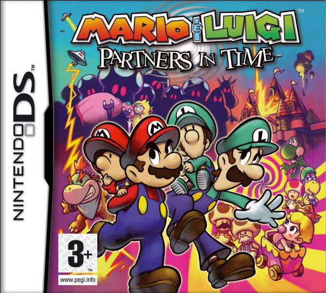 Dans « Partners in Time », comment s'appelle l'étoile que recherchent Mario et Luigi ?