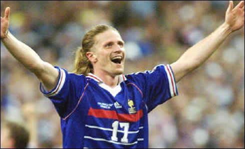 Emmanuel Petit est l'un des auteurs des trois buts marqués par la France en finale de la Coupe du monde de foot, en 1998. Il a marqué le...