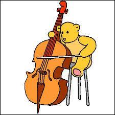 L'air d'opéra est-il accompagné par le clavecin et le violoncelle ou par l'orchestre ?