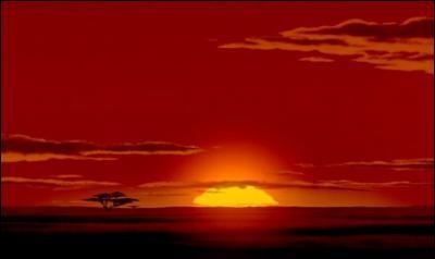 À quel célèbre dessin animé d'animation vous fait penser ce paysage africain ?