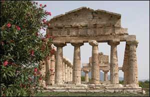 Quel héros habite dans un endroit où se trouve des éléments d'architectures semblables à ceux de cette photo ?