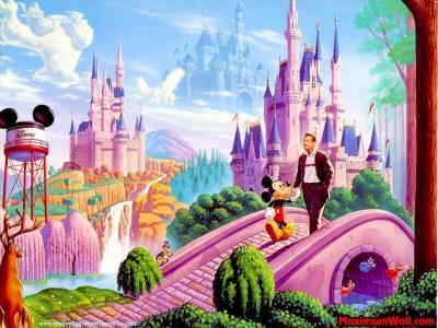 Un paysage = un Disney