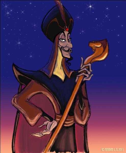 Il existe également de mauvais sorciers. Les femmes ne sont pas les seules méchantes des dessins animés, après tout ! Qui est cet homme ?