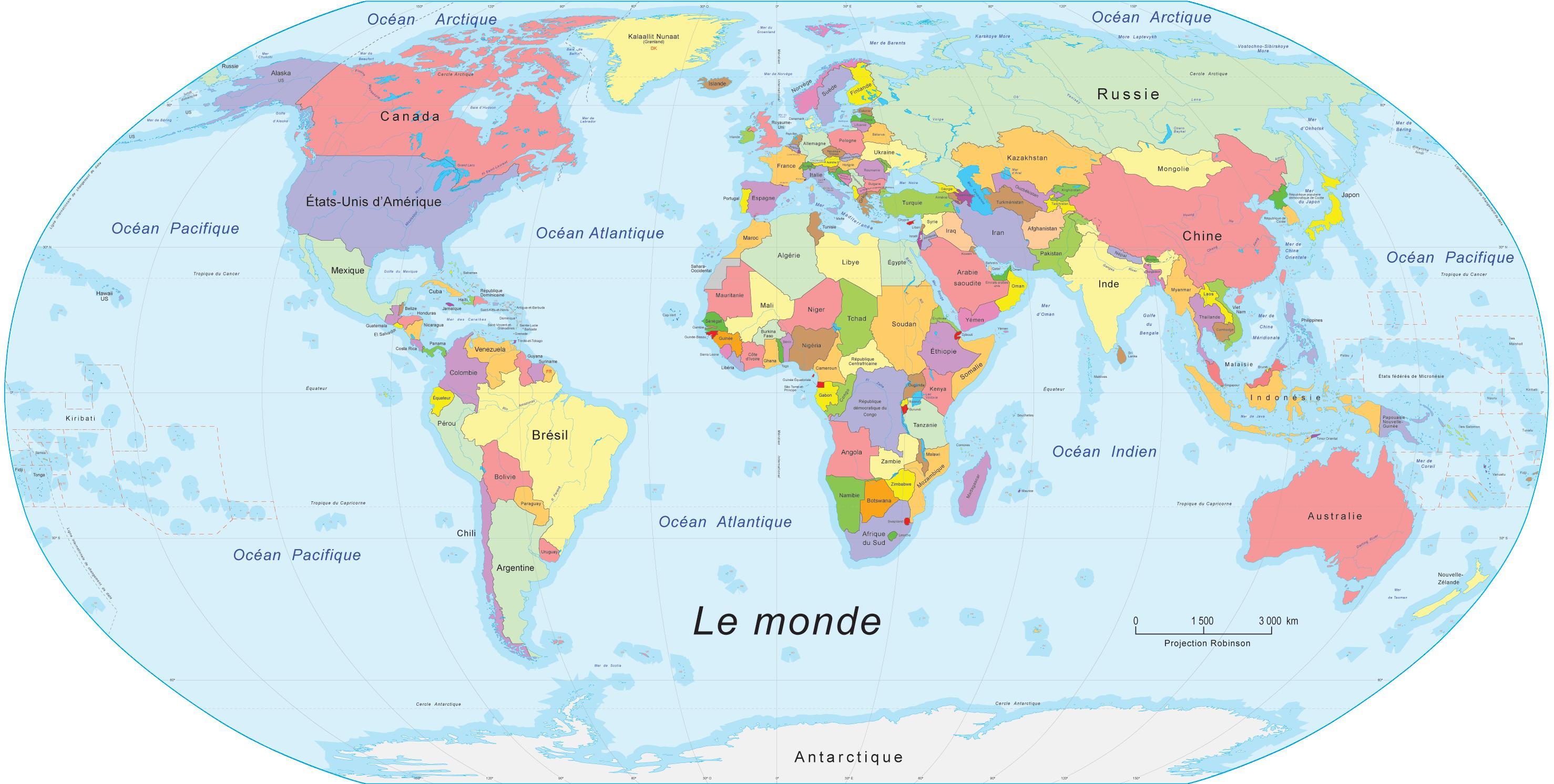 zanzibar carte du monde - Photo