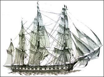 Quel bateau immortalisé par Géricault a sombré au large du Sénégal en 1816, commandé par Joseph François Raoul ?