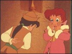 Dans le film d'animation, Hanz, libéré du sortilège grâce à l'amour de Clara, redevient humain et tous deux reviennent dans le monde réel. Quelles sont les autres fins selon les différentes versions ?
