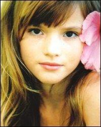 Comment se nomme cette adorable petite fille qui a maintenant 16 ans ?